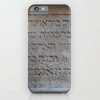 Hebrew iPhone 6 Slim Case