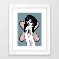 Layla Framed Art Print