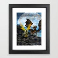Dragon Knight Framed Art Print