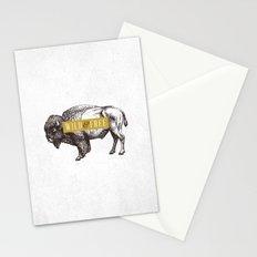 Wild & Free (Bison) Stationery Cards