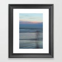 The Sea Sings My Name Framed Art Print