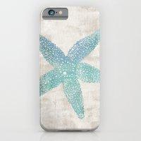 Aqua Starfish iPhone 6 Slim Case