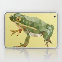 Geometric Frog Laptop & iPad Skin