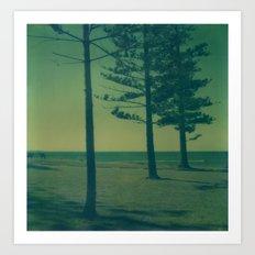 Port Macquarie Polaroid Art Print