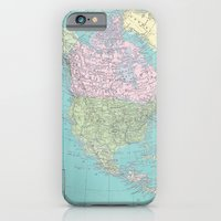 Vintage North America Ma… iPhone 6 Slim Case