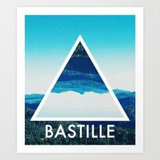 BASTILLE Art Print
