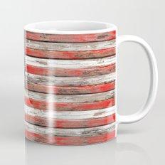 USA Vintage Wood Mug