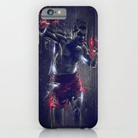 iPhone & iPod Case featuring DARK BOXING by Ptitecao