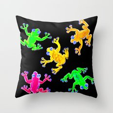 Rainforest Multicolour Throw Pillow