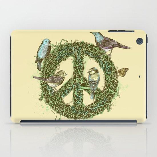 Peace Talks iPad Case