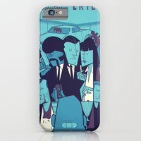 iPhone Cases featuring PULP FICTION variant by Ale Giorgini