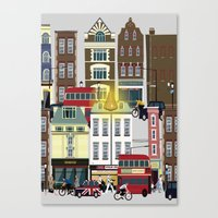 Seven Noses of London Soho Canvas Print