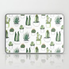 watercolour cacti and succulent Laptop & iPad Skin