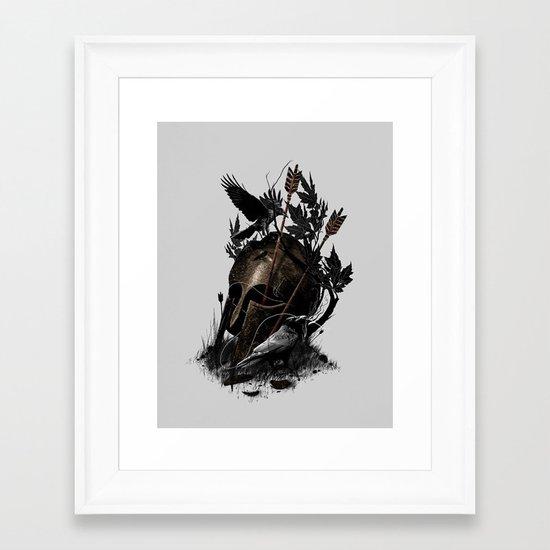 Legends Fall Framed Art Print