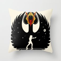 Queen Swan Throw Pillow