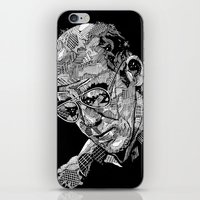 Hunter S Thompson iPhone & iPod Skin