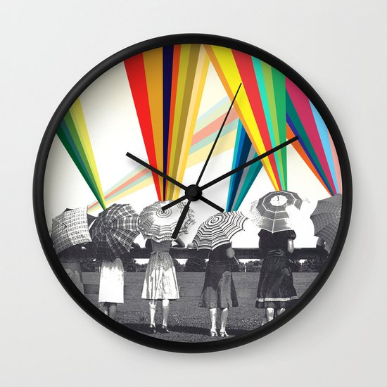 Modern women Wall Clock