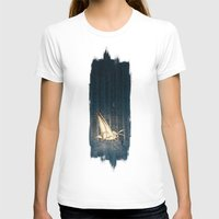 Moth To The Flame  Womens Fitted Tee White SMALL