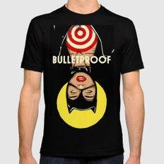 Bulletproof Black SMALL Mens Fitted Tee