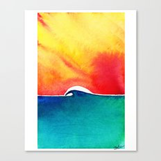 Oceans Day Canvas Print