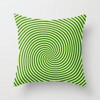 Trip Spin Throw Pillow
