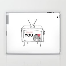 I Hate You / Television Laptop & iPad Skin