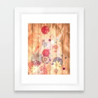 Unhappy Spring Framed Art Print