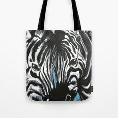 Eye of Contrast {Zebra Love} Tote Bag