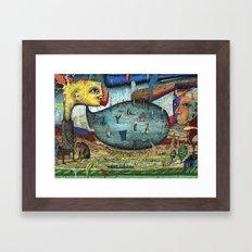 The Stagnant Pool Framed Art Print