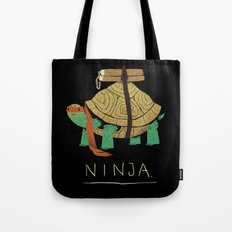 ninja - orange Tote Bag