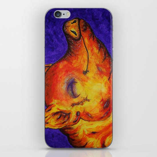 Pig, Happy iPhone & iPod Skin