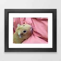 Glamour Shot Framed Art Print