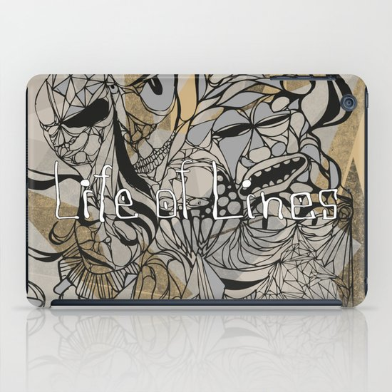 Life of Lines iPad Case