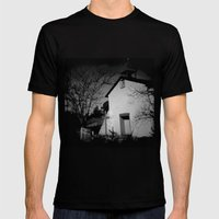 Church Mens Fitted Tee Black SMALL