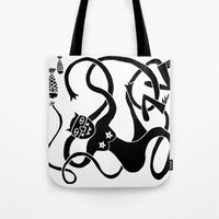 Kitty Love - Fish Bombs Tote Bag