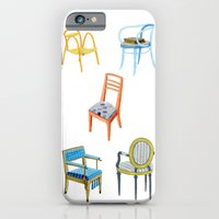 Chairs Number 3 iPhone 6 Slim Case