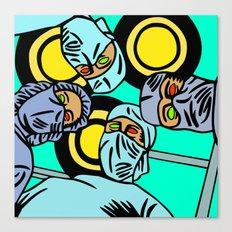 COBRADRELLA- La Peur d'Andy Warhol Canvas Print