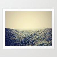 Nature Gradients .1 Art Print