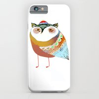 iPhone Cases featuring The Sweet Owl by Ashley Percival illustrator