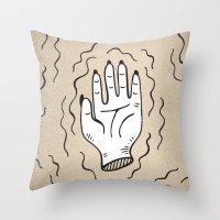 Handy Work Throw Pillow
