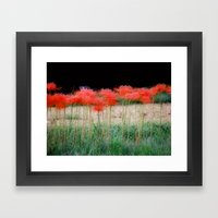 Spider Lillies Framed Art Print