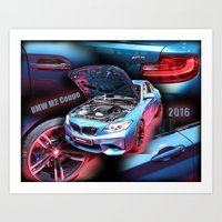 BMW M2 Coupe Art Print
