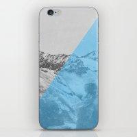 NEON NATURE | Blue iPhone & iPod Skin
