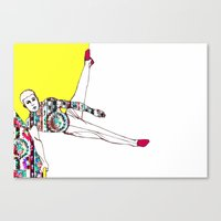 Argon Series. Spring 7 Canvas Print