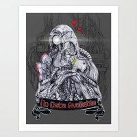 Legion (b&w) Art Print
