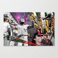 Butterfly Riddim Canvas Print