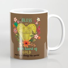 Bless your Heart of Gold Mug