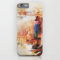 iPhone & iPod Case featuring A sense of antiquity Abstract by RokinRonda