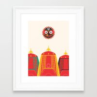 Rathyatra Framed Art Print