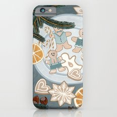 Gingerbread Men Cookies iPhone 6 Slim Case